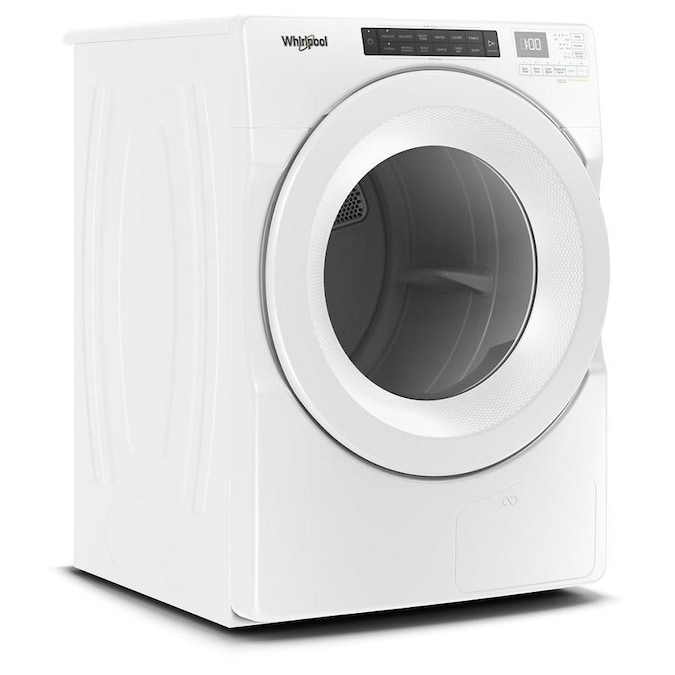 Whirlpool 4 5 Cu Ft Closet Depth High Efficiency Front Load Washer With Load And Go Dispenser White In The Front Load Washers Department At Lowes Com