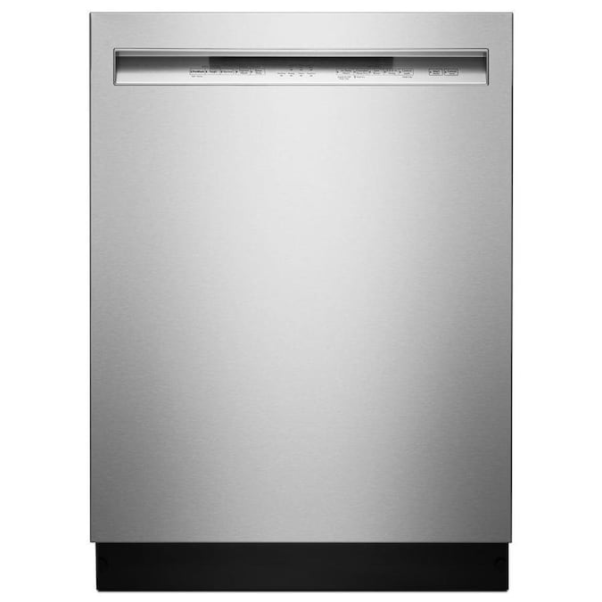 KitchenAid 46-Decibel Front Control 24-in Built-In Dishwasher (Fingerprint-Resistant Stainless Steel) ENERGY STAR