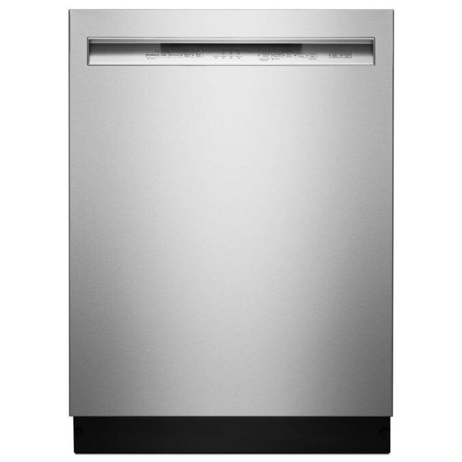 KitchenAid 46-Decibel Front Control 24-in Built-In Dishwasher (Fingerprint-Resistant Stainless Steel) ENERGY STAR