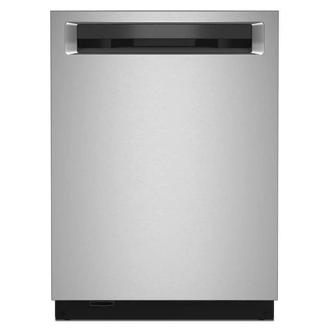 KitchenAid 44-Decibel Top Control 24-in Built-In Dishwasher (Fingerprint-Resistant Stainless Steel) ENERGY STAR