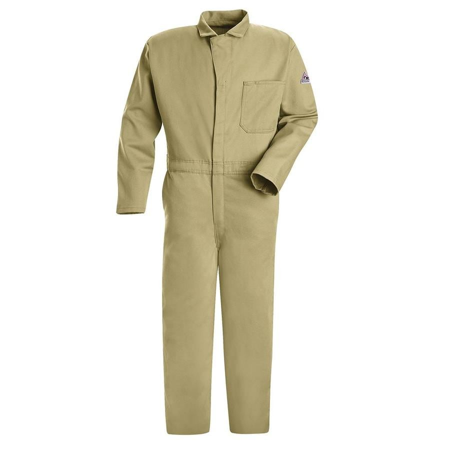 Bulwark 44 Men's Khaki Long Coveralls