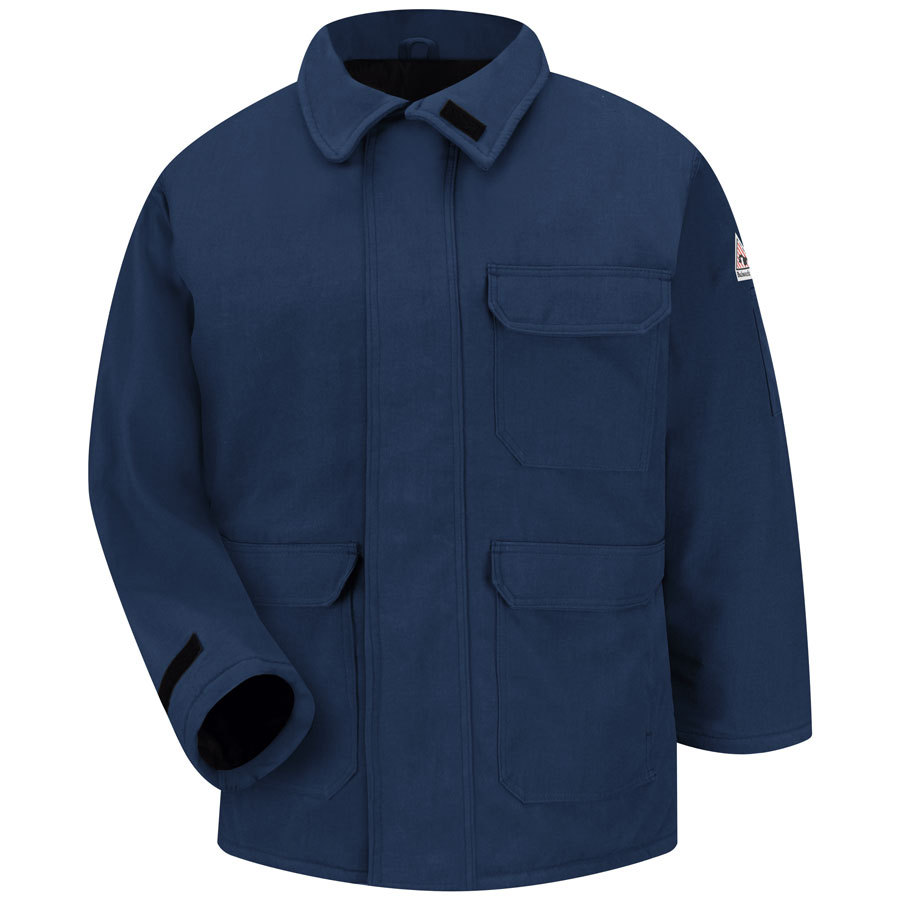 Bulwark Large Men's Navy Twill HRC 4 Parka