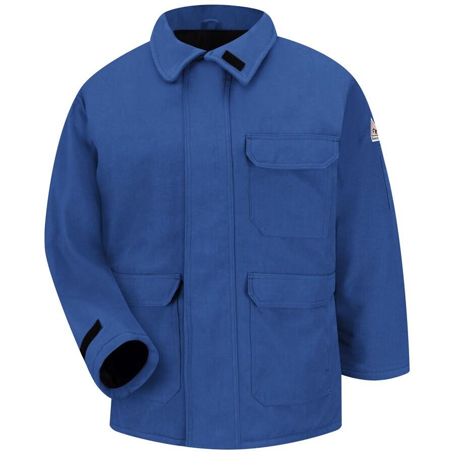 Bulwark X-Large Men's Royal Blue Twill HRC 4 Parka