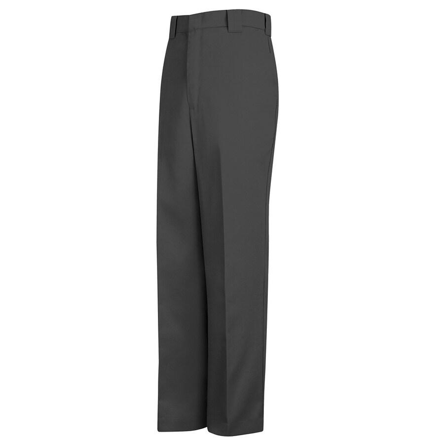 Red Kap Men's 46 x 32 Charcoal Twill Uniform Work Pants