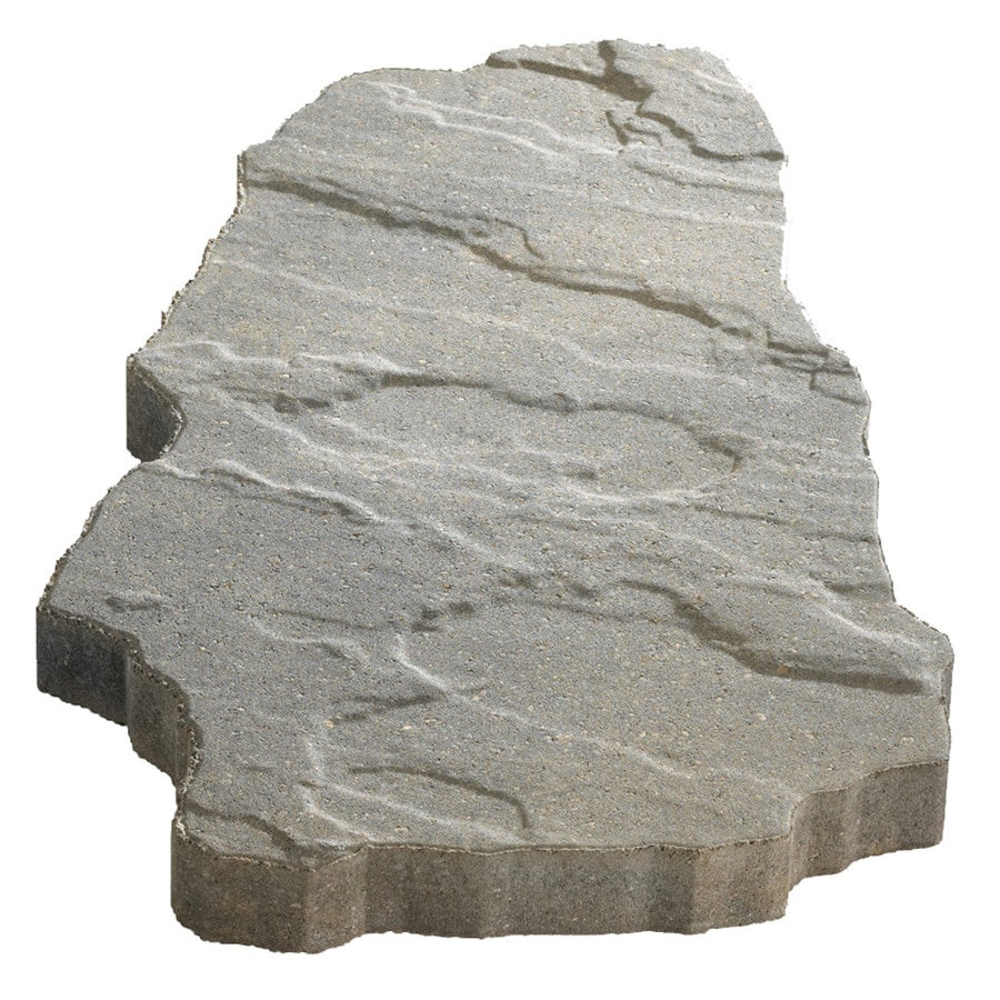 Charcoal/Tan Concrete Patio Stone (Common: 15-in x 20-in; Actual: 15-in x 20-in)