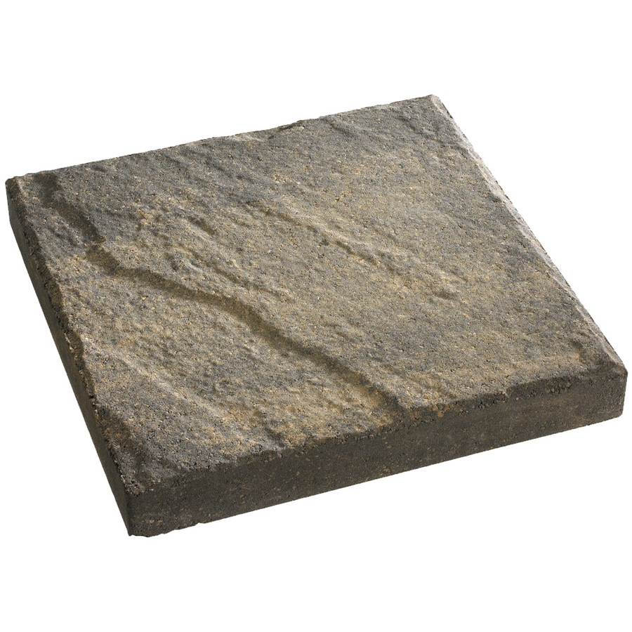 Anchor Block Charcoal/Tan Slate Patio Stone (Common: 16-in x 16-in; Actual: 16-in x 16-in)