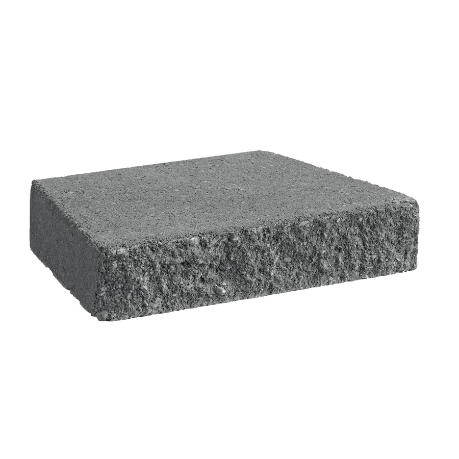 Charcoal Straight Concrete Retaining Wall Cap (Common: 12-in x 2-in; Actual: 12-in x 2-in)