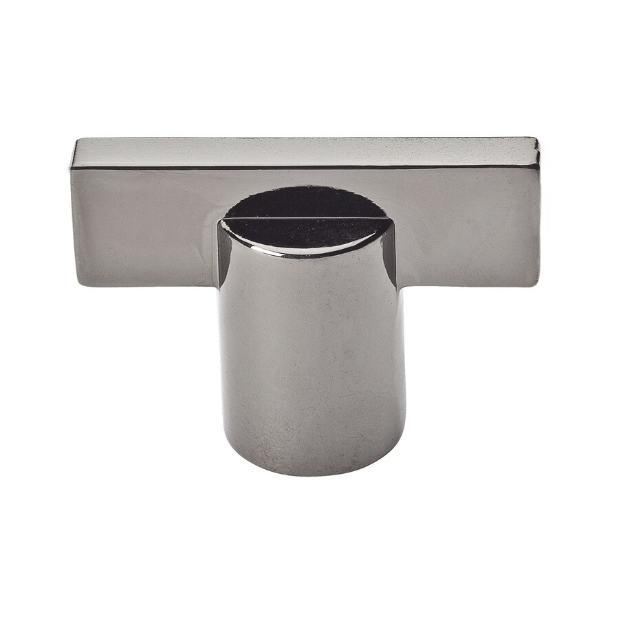 BALDWIN Prestige Black Chrome Square Cabinet Knob