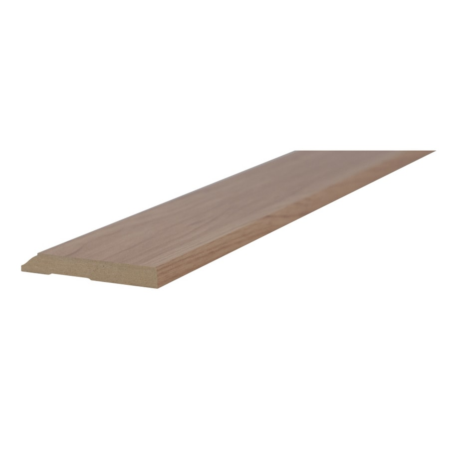 Kronotex 3-in x 94-in Walnut Base Floor Moulding