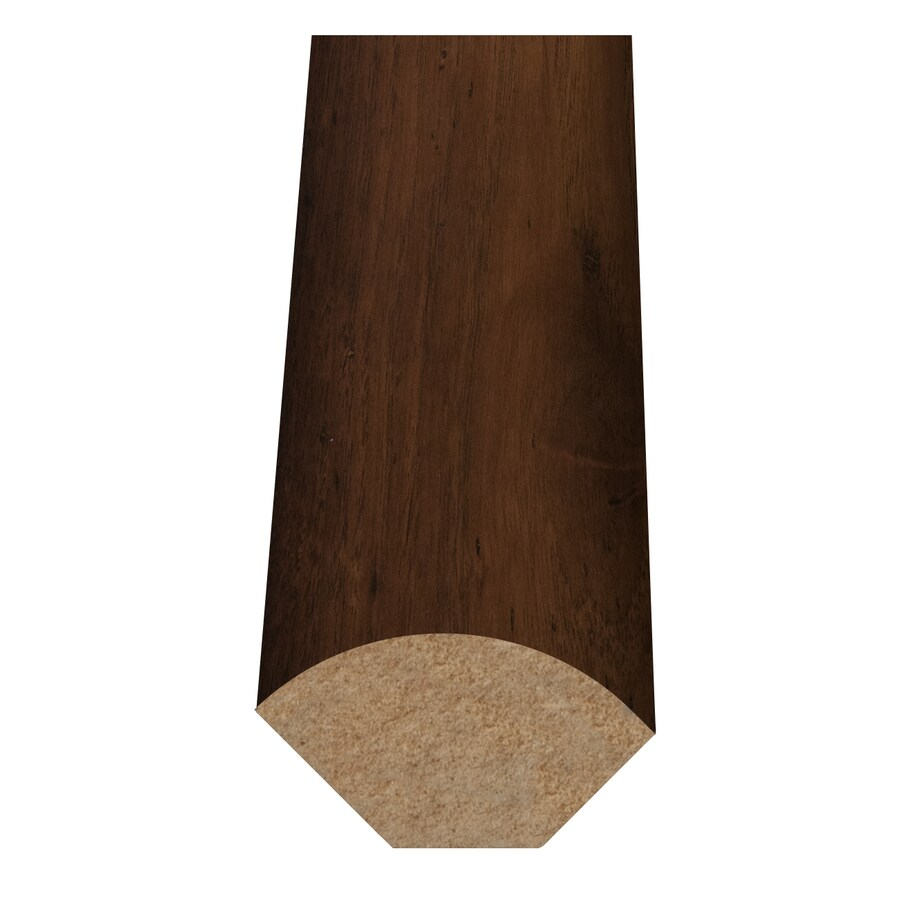 Style Selections 1-in x 94-in Cinnamon Hickory Quarter Round Floor Moulding