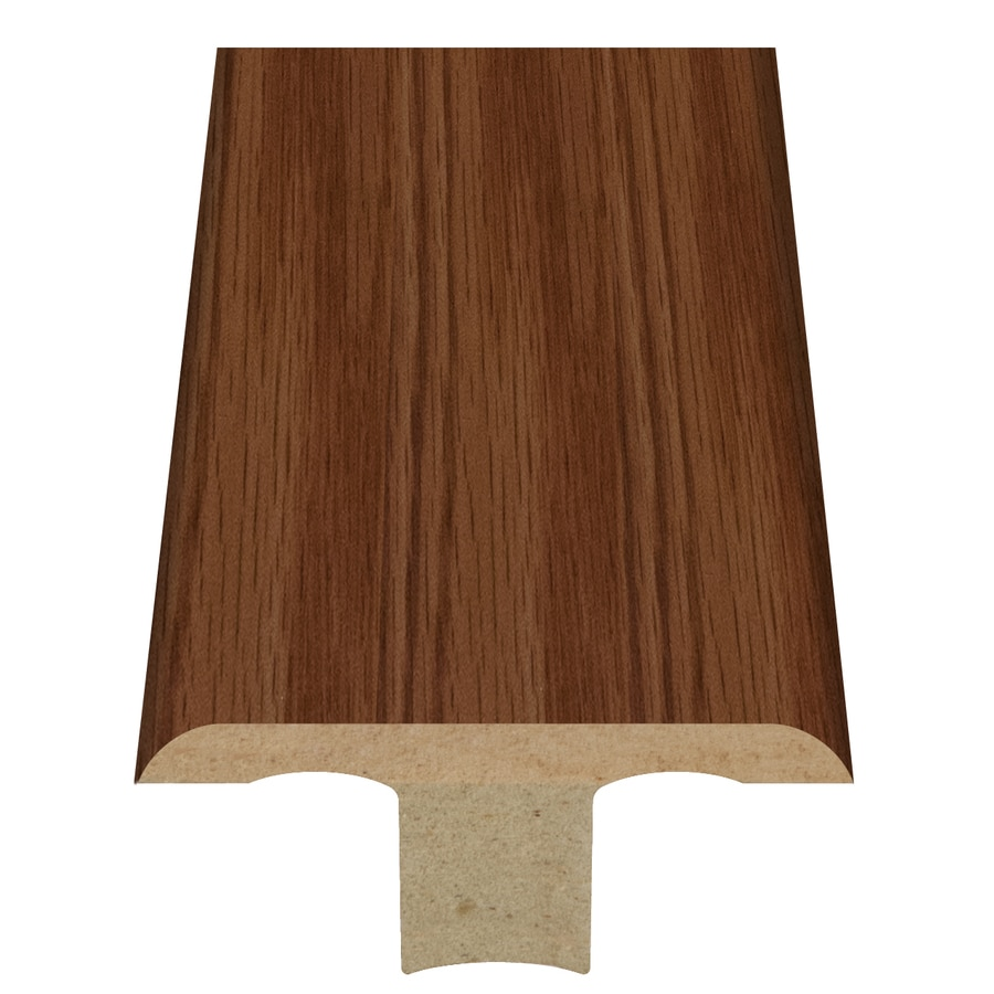 Style Selections 1.75-in x 94-in Brown Oak Woodgrain T-Floor Moulding