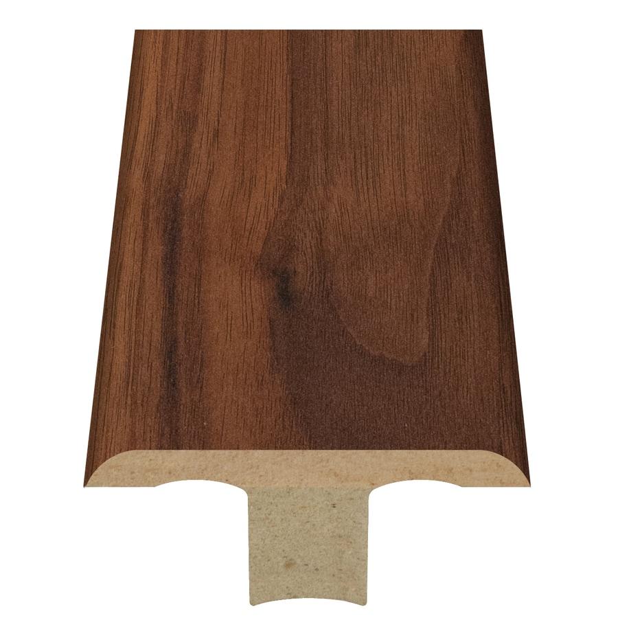 Style Selections 1.75-in x 94-in Brown Walnut Woodgrain T-Floor Moulding