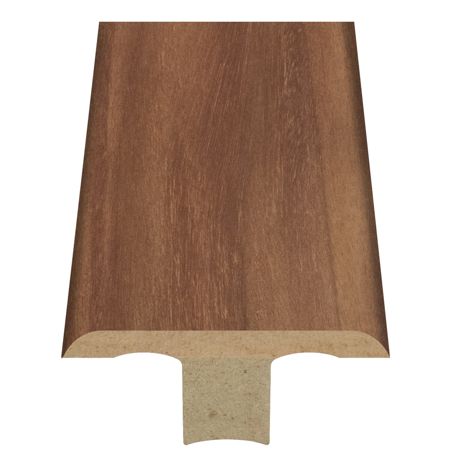 Style Selections 1.75-in x 94-in Light Brown Woodgrain T-Floor Moulding