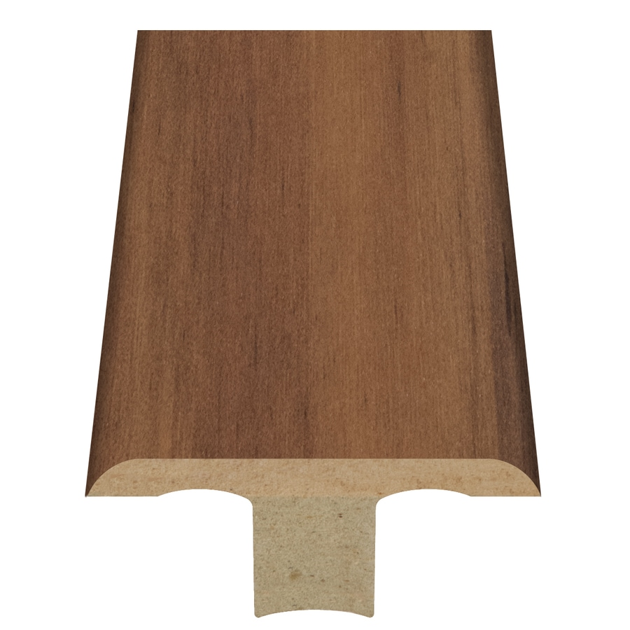 Style Selections 1.75-in x 94-in Light Brown Exotic Woodgrain T-Floor Moulding