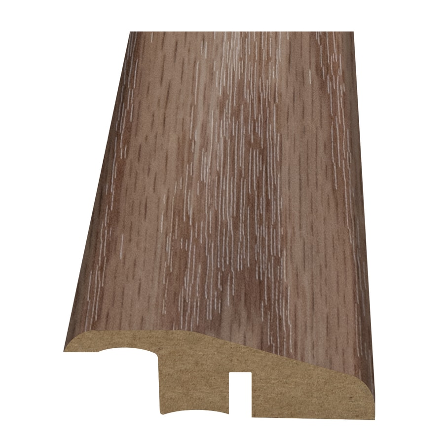 Style Selections 2.15-in x 94-in Light Brown Oak Woodgrain Reducer Floor Moulding