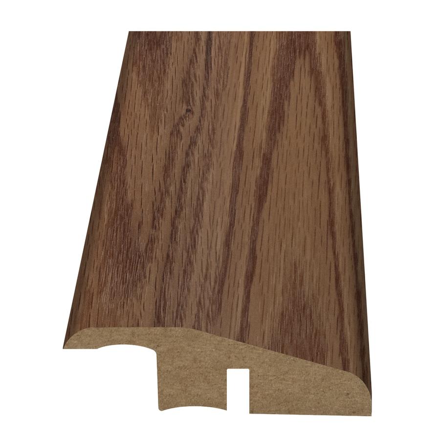 Style Selections 2.15-in x 94-in Brown Oak Woodgrain Reducer Floor Moulding