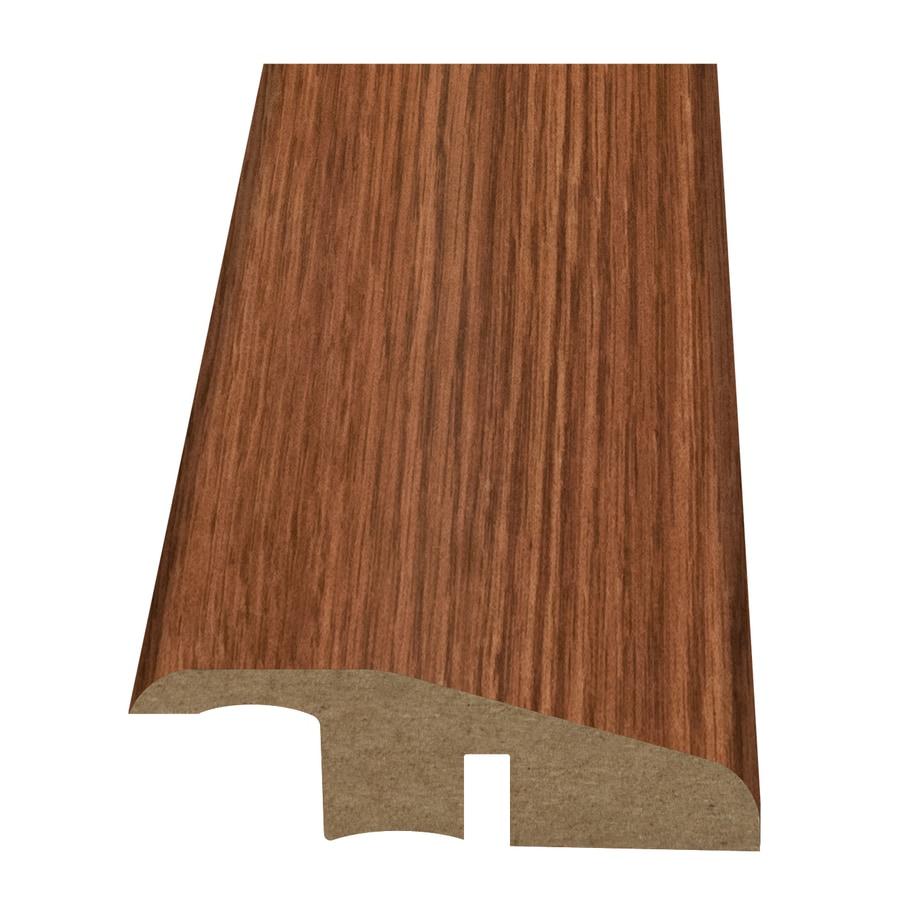 Style Selections 2.15-in x 94-in Orange Oak Woodgrain Reducer Floor Moulding