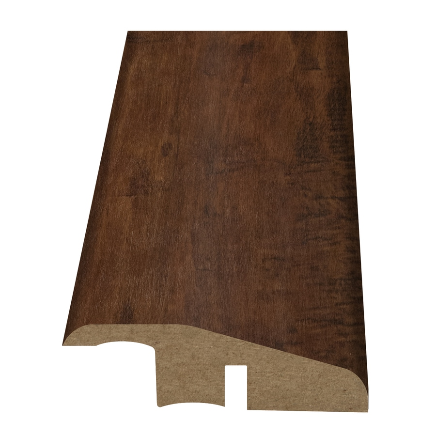 Style Selections 2.15-in x 94-in Dark Brown Maple Woodgrain Reducer Floor Moulding