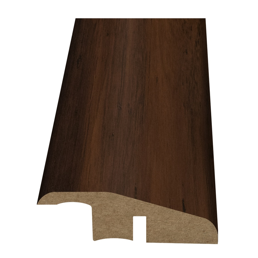 Style Selections 2.15-in x 94-in Dark Brown Hickory Woodgrain Reducer Floor Moulding