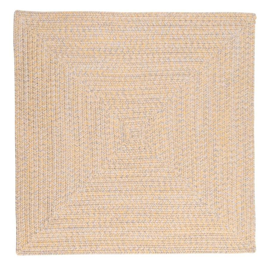 Colonial Mills Catalina 10 X 10 Sun Soaked Square Indoor Outdoor Geometric Coastal Handcrafted Area Rug In The Rugs Department At Lowes Com