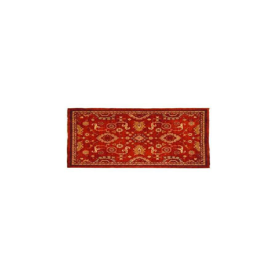 allen + roth 2-ft 3-in x 7-ft 6-in Red Marinella Forbiden Area Rug