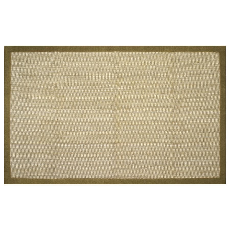 allen + roth Northbridge Maple Rectangular Indoor Woven Area Rug (Common: 5 x 8; Actual: 60-in W x 93-in L)