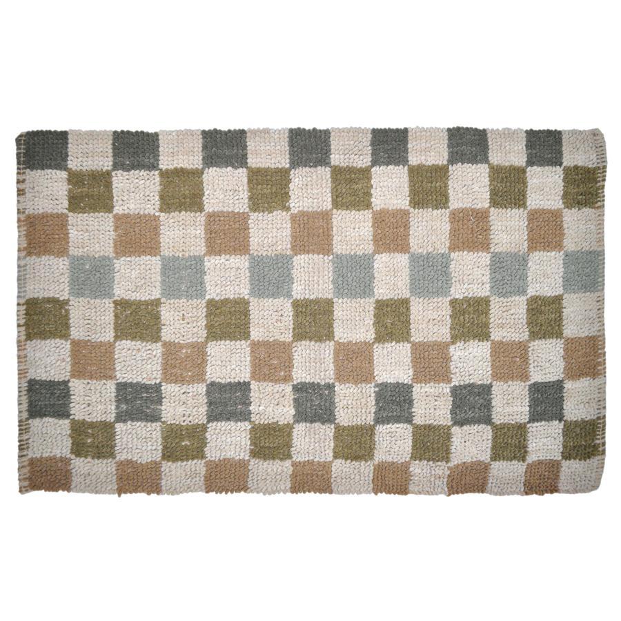 allen + roth Multicolor Rectangular Indoor Woven Throw Rug (Common: 2 x 4; Actual: 27-in W x 45-in L)