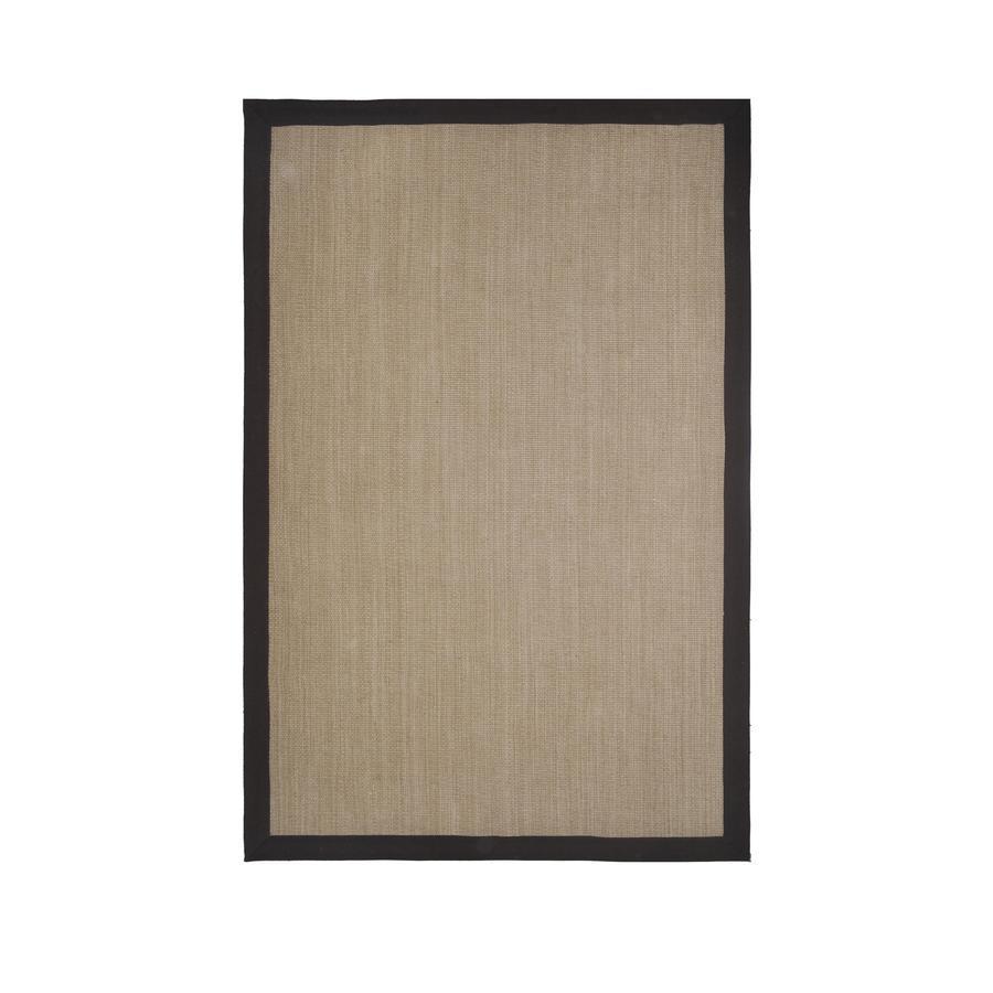 allen + roth Nacton Walnut Rectangular Indoor Woven Area Rug (Common: 9 x 12; Actual: 108-in W x 144-in L)