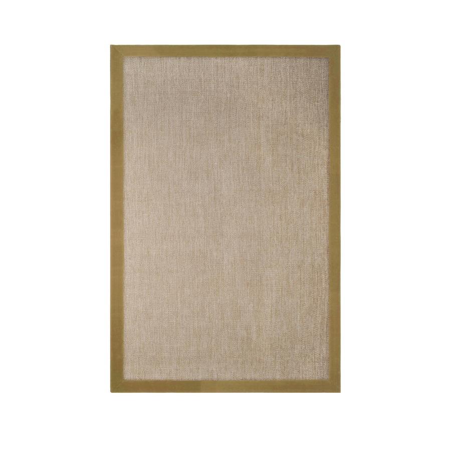 allen + roth Nacton Khaki Rectangular Indoor Woven Area Rug (Common: 8 x 10; Actual: 96-in W x 120-in L)
