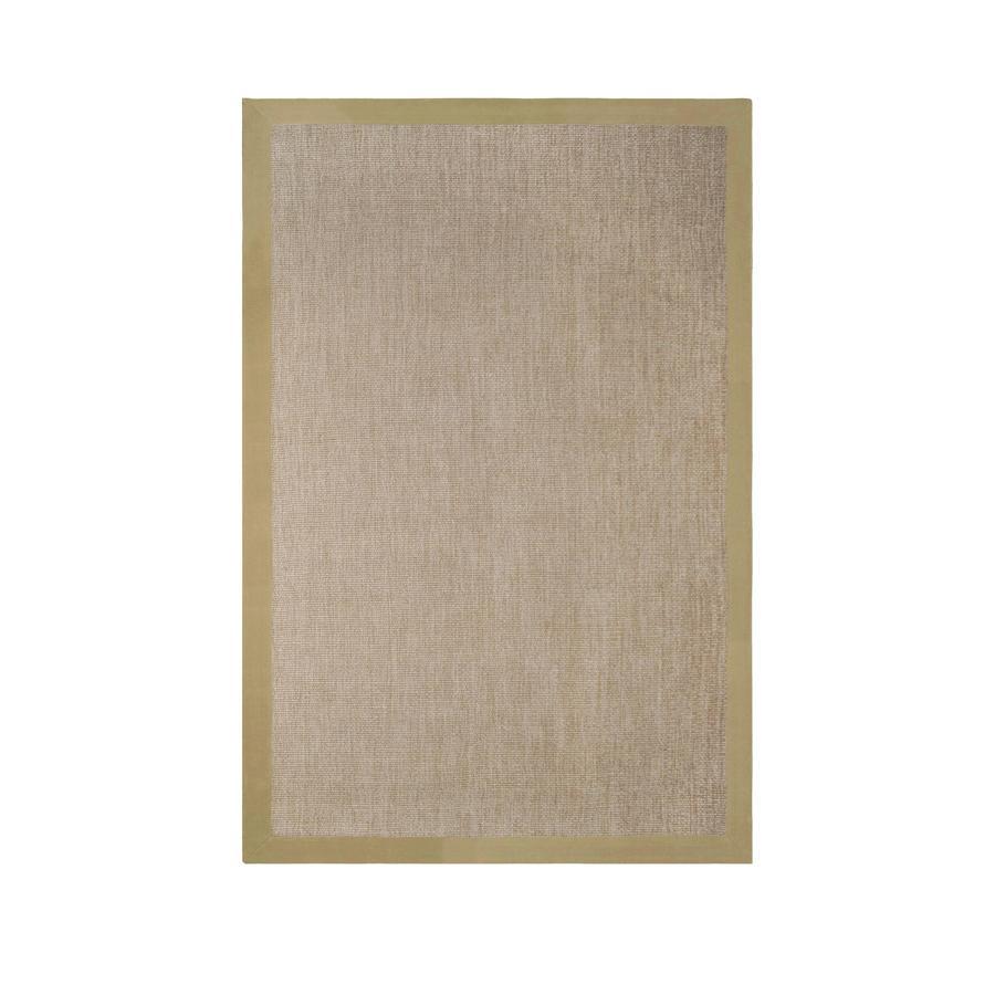 allen + roth Nacton Natural Rectangular Indoor Woven Area Rug (Common: 8 x 10; Actual: 96-in W x 120-in L)
