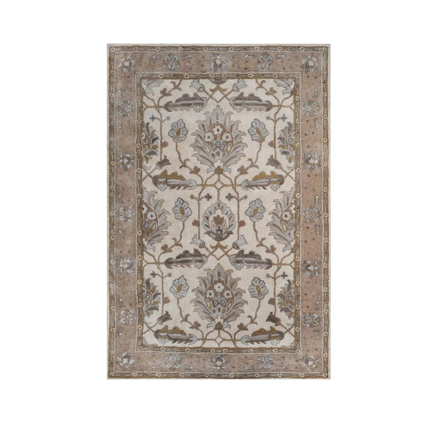 allen + roth Southminster Multicolor Rectangular Indoor Hand-Hooked Area Rug (Common: 9 x 12; Actual: 108-in W x 144-in L)
