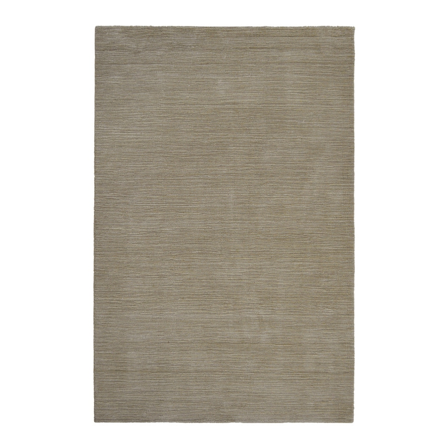 allen + roth Oatmeal Rectangular Indoor Woven Area Rug (Common: 5 x 7; Actual: 60-in W x 90-in L)