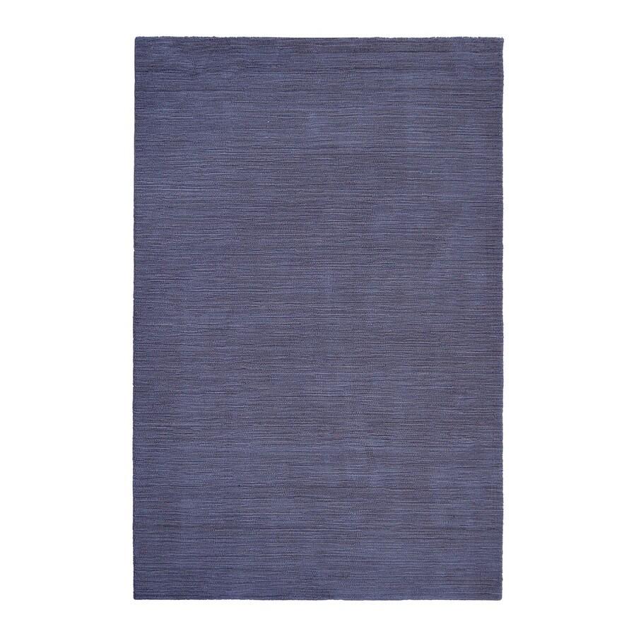 allen + roth Monteith Indigo Rectangular Indoor Woven Area Rug (Common: 5 x 8; Actual: 60-in W x 90-in L)