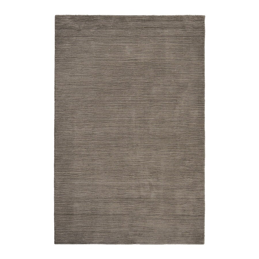 allen + roth Monteith Brown Rectangular Indoor Woven Area Rug (Common: 5 x 8; Actual: 60-in W x 90-in L)
