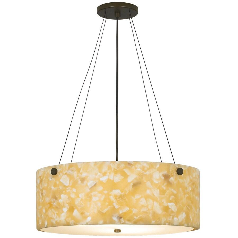 tiella 17-in W-Light Kitchen Island Light with Shade