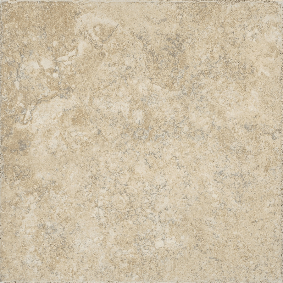 FLOORS 2000 Terrace 6-Pack Beige Porcelain Floor and Wall Tile (Common: 20-in x 20-in; Actual: 19.68-in x 19.68-in)
