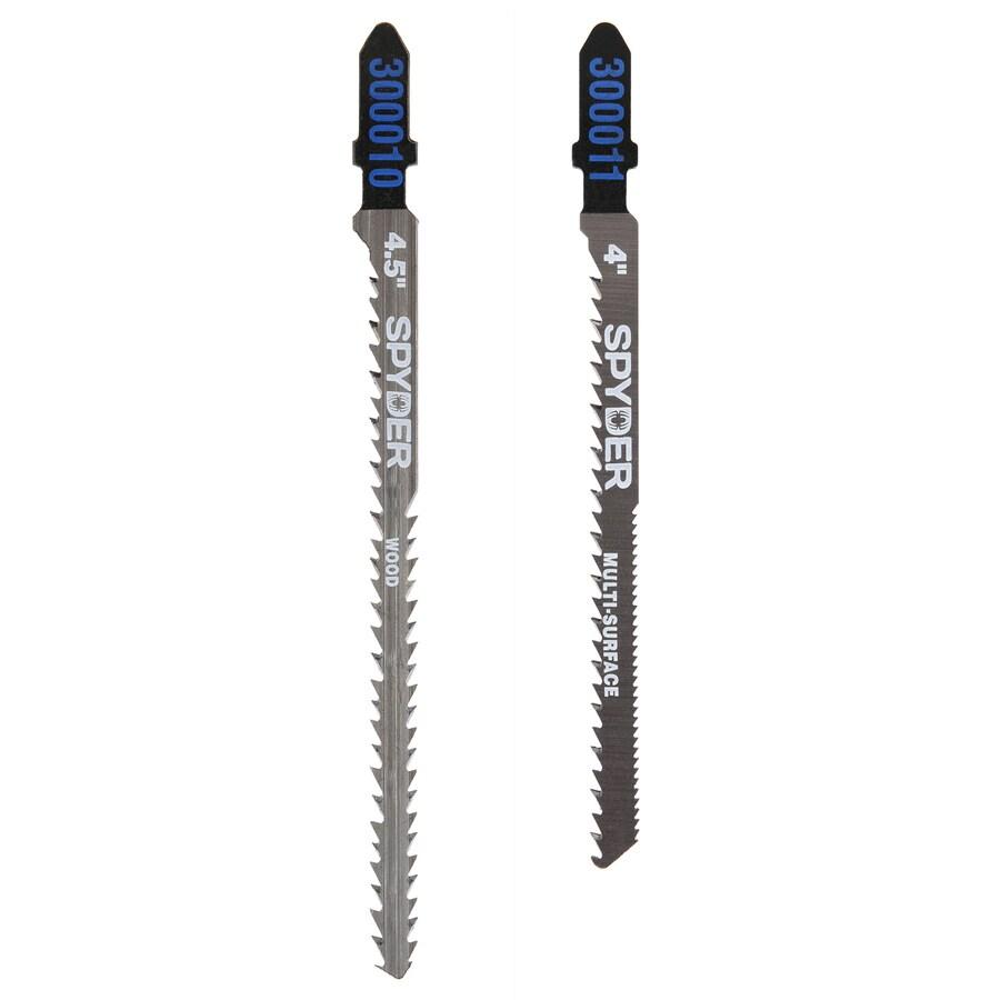 Shop Spyder 2 Pack T Shank Jigsaw Blade Set At Lowes Com