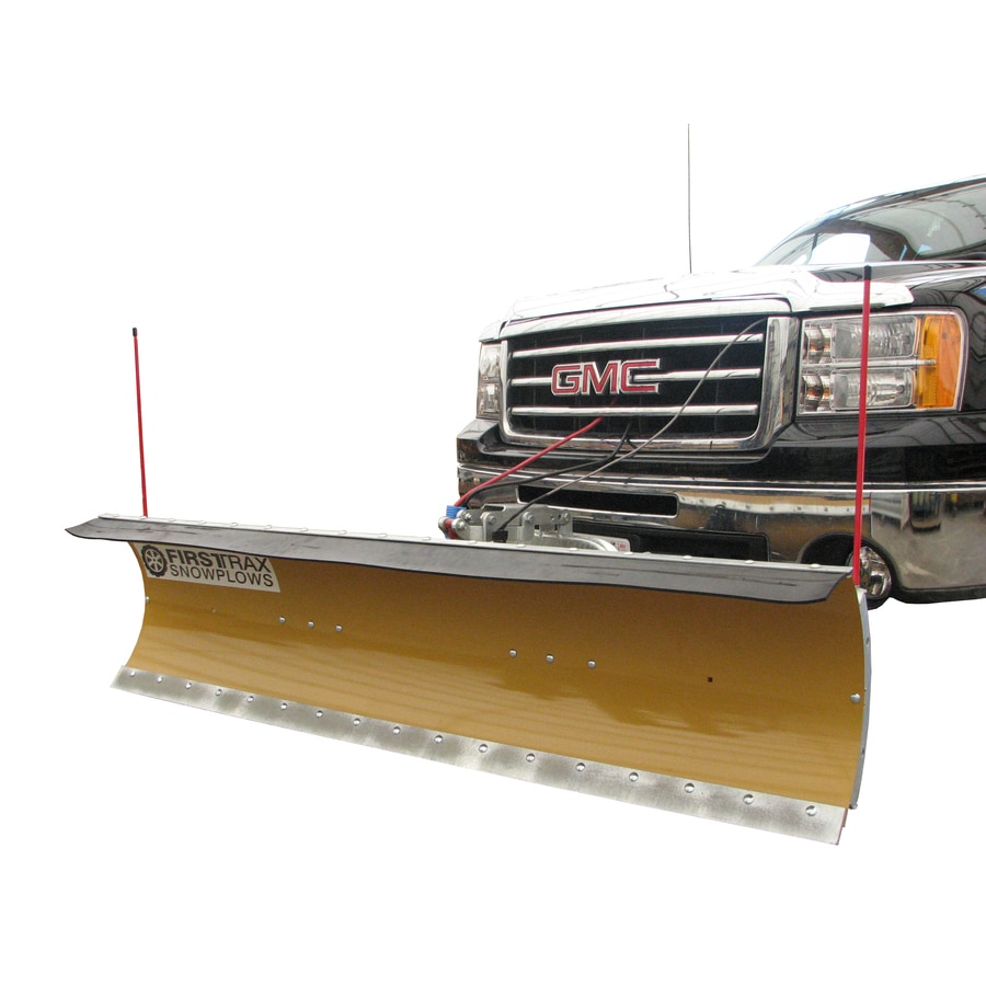 FirstTrax Personal Snowplow 90-in W x 24-in H Steel Snow Plow