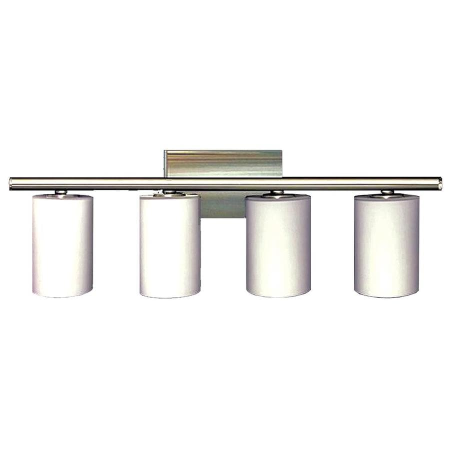 Khaleesi 4-Light Satin Chrome Vanity Light