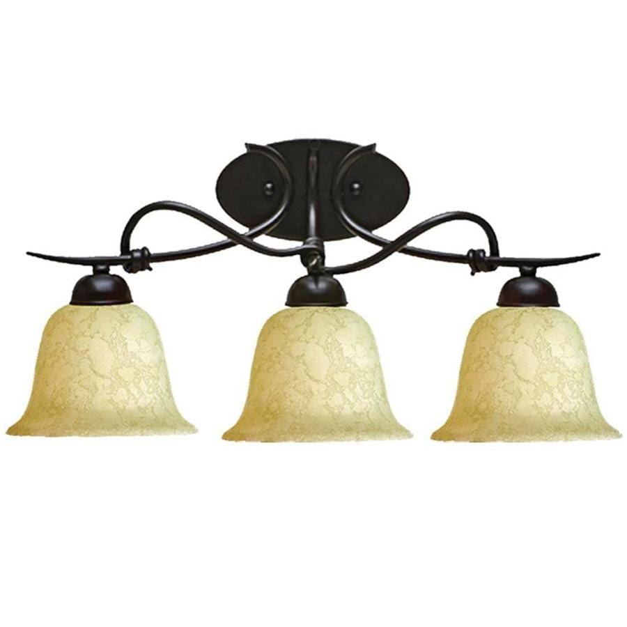 Khaleesi 3-Light Golden Bronze Vanity Light