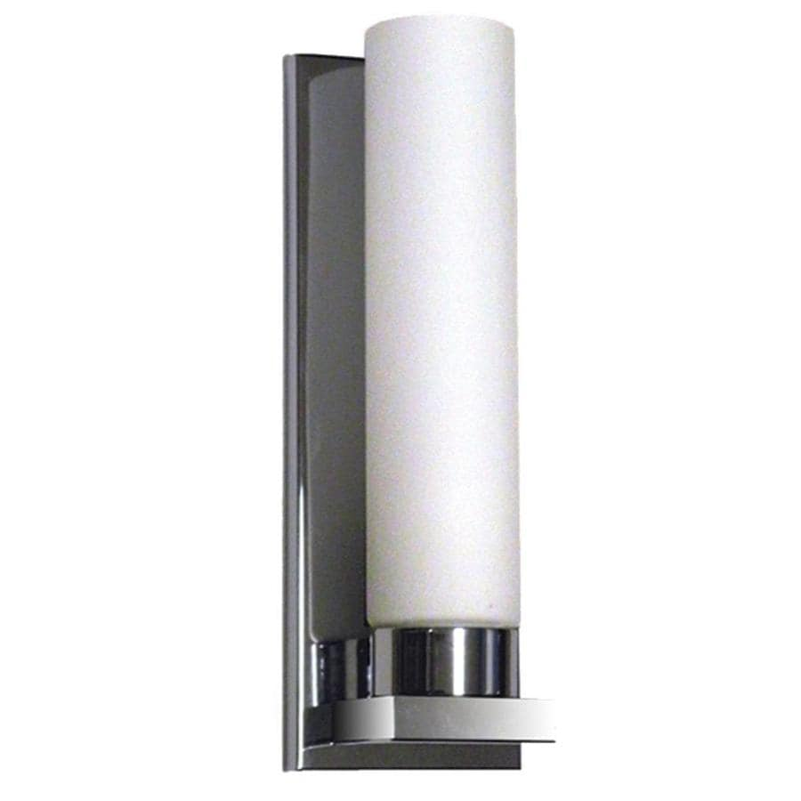 Wall Sconces Hardwired : Shop Khaleesi 4.25-in W 1-Light Polished Chrome Directional Hardwired Wall Sconce at Lowes.com