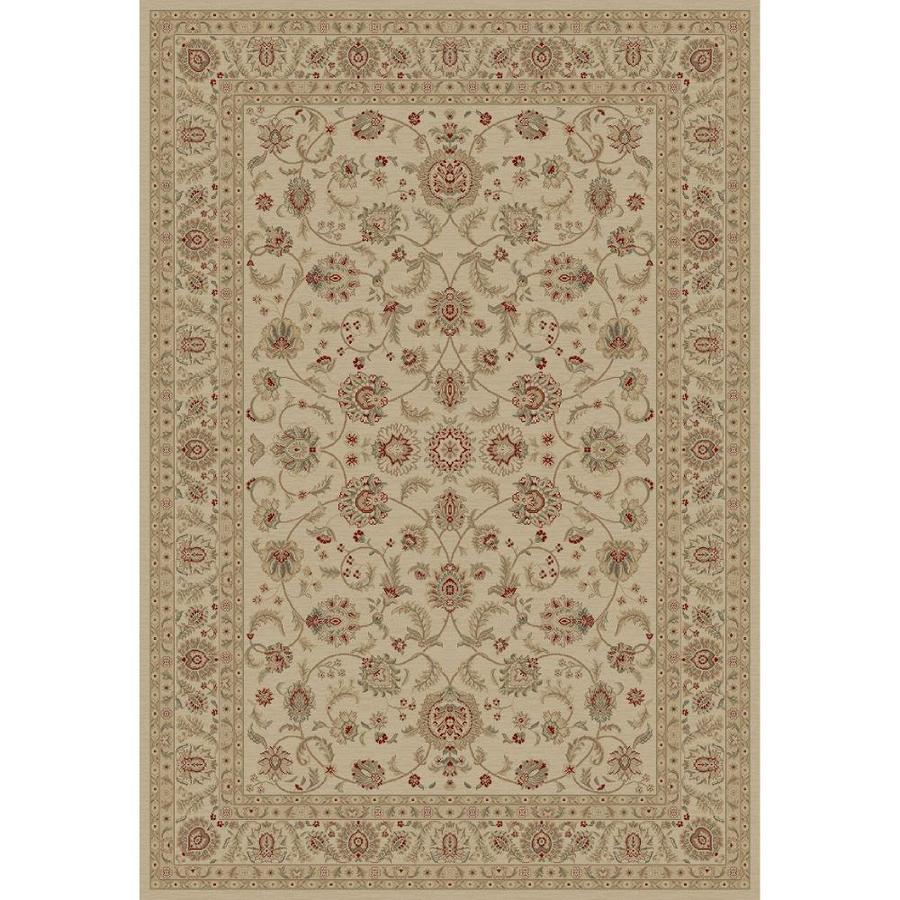 Concord Global Legend Ivory Rectangular Indoor Woven Oriental Area Rug (Common: 9 x 12; Actual: 105-in W x 147-in L x 8.75-ft Dia)