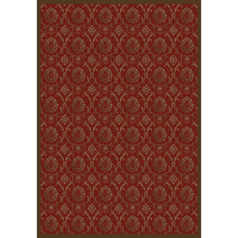Concord Global Mooresville Red Rectangular Indoor Woven Oriental Area Rug (Common: 8 x 11; Actual: 94-in W x 126-in L x 7.83-ft Dia)