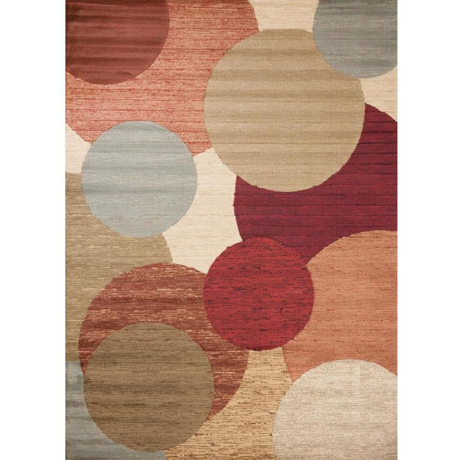 Concord Global Studio Multicolor Rectangular Indoor Woven Area Rug (Common: 5 x 7; Actual: 63-in W x 87-in L x 5.25-ft Dia)