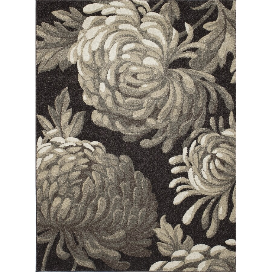 Concord Global Manhattan Brown Rectangular Indoor Woven Nature Area Rug (Common: 7 x 10; Actual: 79-in W x 114-in L x 6.58-ft Dia)