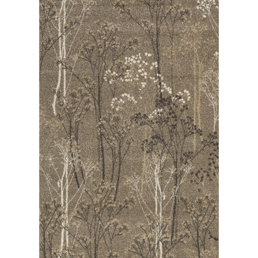 Casa Taupe Rectangular Indoor Woven Nature Area Rug (Common: 8 x 10; Actual: 94-in W x 118-in L x 7.83-ft Dia)
