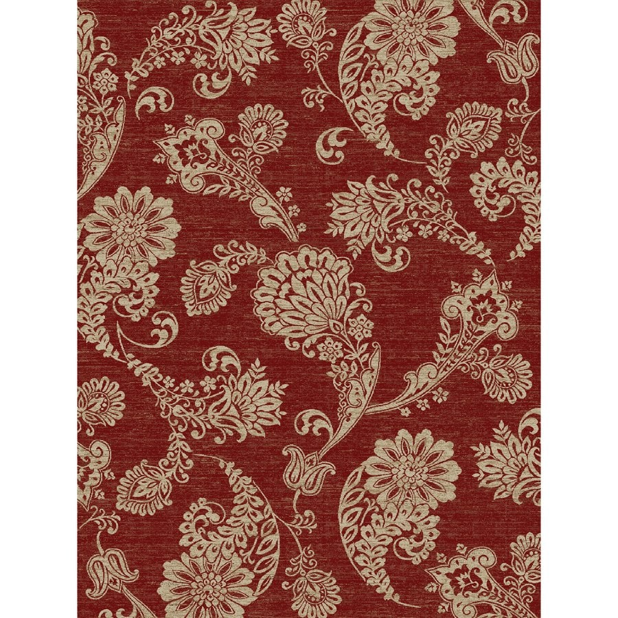 Concord Global Kensington Red Rectangular Indoor Woven Nature Area Rug (Common: 8 x 11; Actual: 94-in W x 126-in L x 7.83-ft Dia)