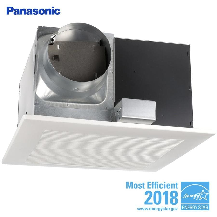 Panasonic 3-Sone 390-CFM White Bathroom Fan