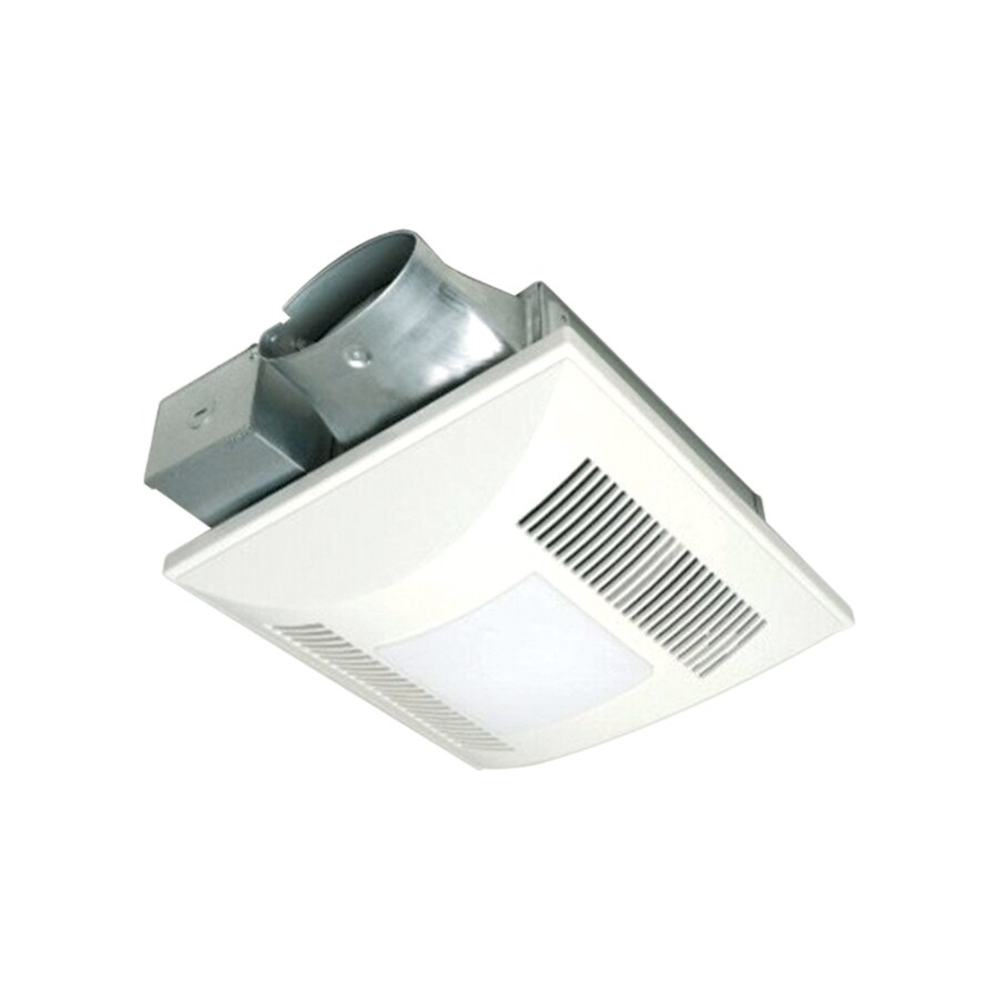 Shop Panasonic 1-Sone 80-CFM White Bathroom Fan With Light ENERGY STAR At Lowes.com