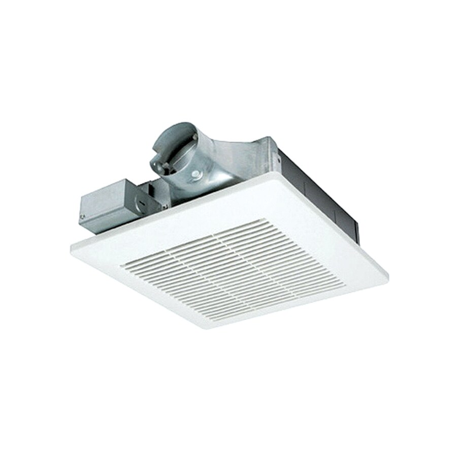 Shop Panasonic 1 Sone 80 Cfm White Bathroom Fan Energy Star At